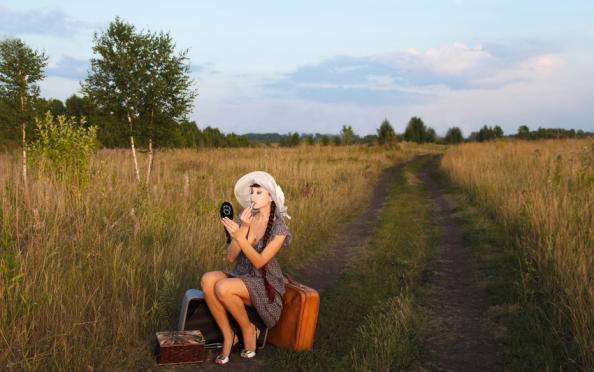 голые фото в деревне