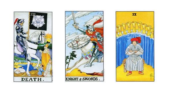 Рыцарь мечей таро: значение в отношениях, перевернутый, в