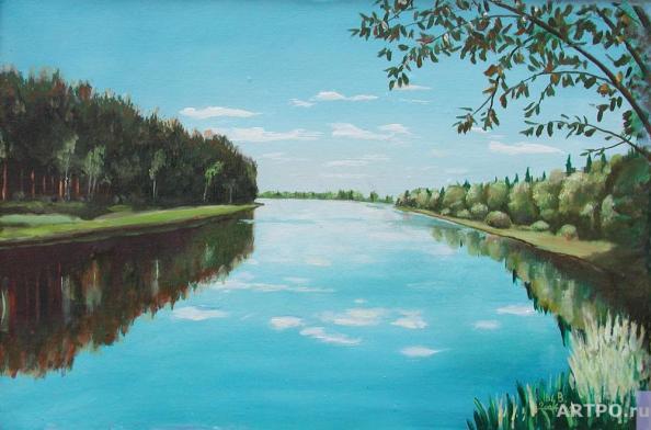 Снится Заснеженная Река