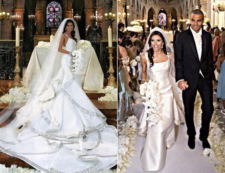 16722e157c8f26f ... французского баскетболиста, игрока клуба НБА «Сан-Антонио Спёрс». Она  остановила свой выбор на роскошном свадебном платье от Angel Sanchez в ...