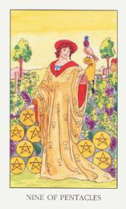 9 пентаклей таро значение таро на картах ангела